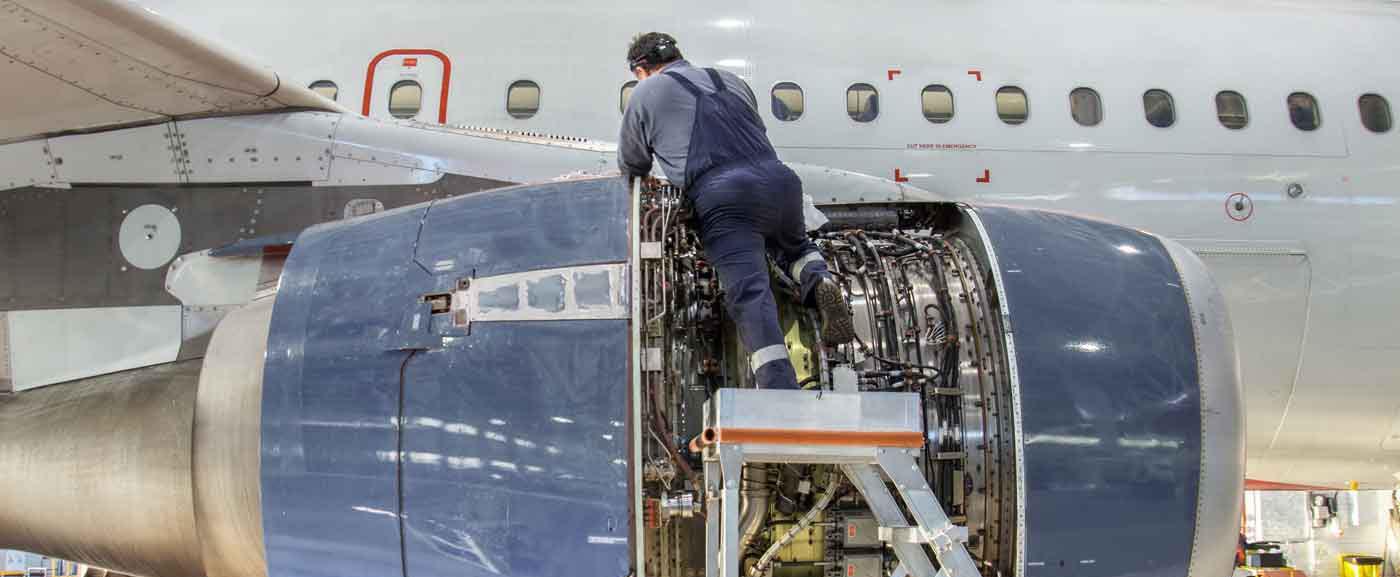 jet engine worker
