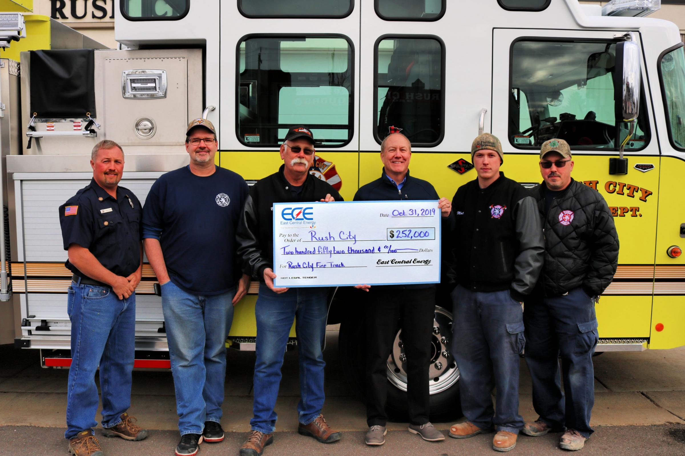 Loan program helps fund fire truck Main Photo