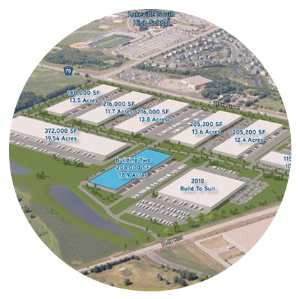 Interstate South Logistics Park Data Center Site (Lakeville, MN)