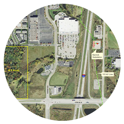 Lakeville Commerce Center Data Center Site (Lakeville, MN)