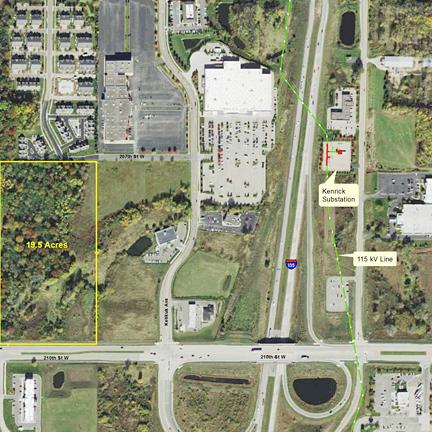 Lakeville Commerce Center Data Center Site (Lakeville, MN)