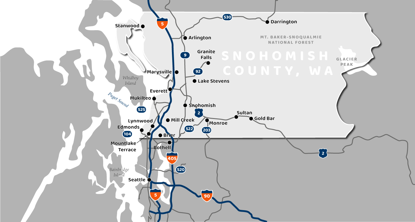 Snohomish County Map