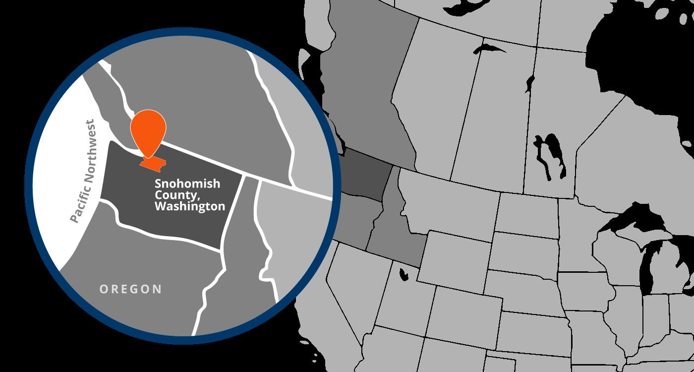 North Pacific Region Map
