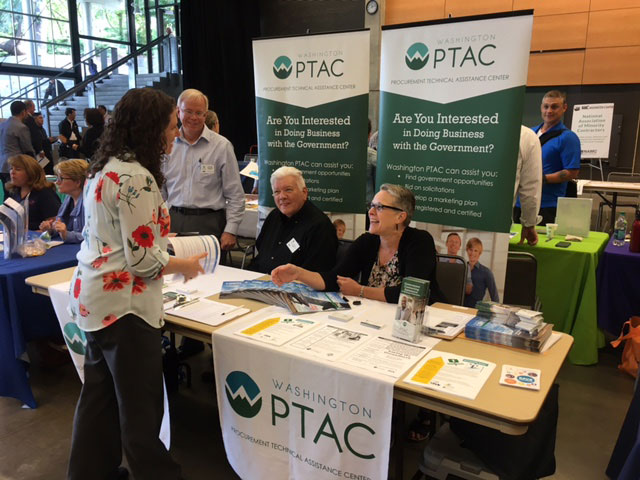 PTAC conference booth