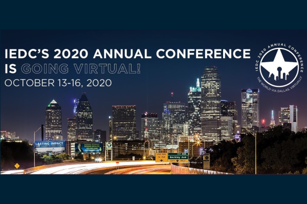 Event Promo Photo For IEDC 2020 Virtual Annual Conference