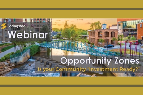 "Expert Webinar: Being Opportunity Zone ""Investment Ready"" Photo"