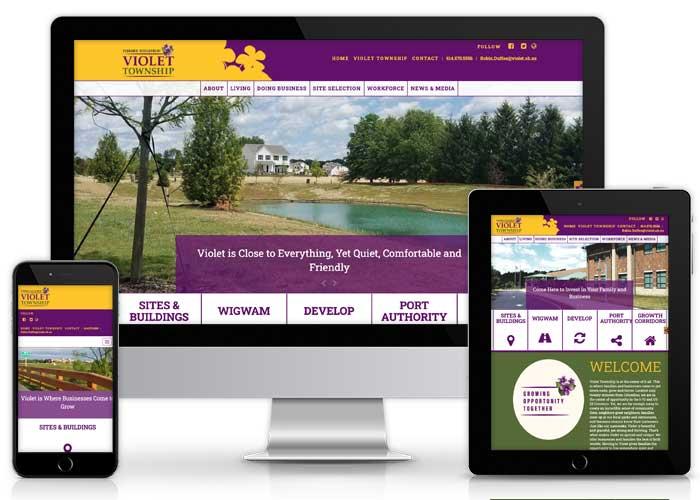 violet website