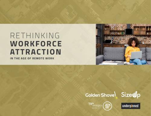 workforce attraction remote work economic development