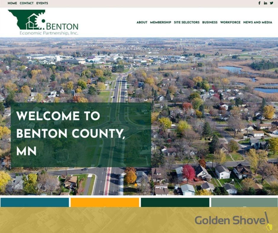 Benton Economic Partnership Inc. Launches Newly Redesigned Website Main Photo