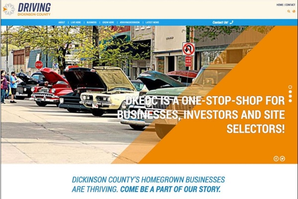 Click the Dickinson County KS Economic Development Launches Workforce and Business Attraction Website Slide Photo to Open