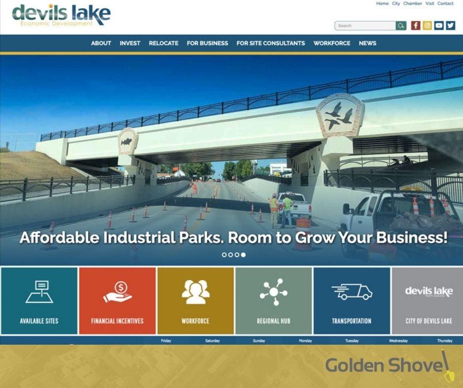 Forward Devils Lake Economic Development Launches Newly Designed Website Main Photo