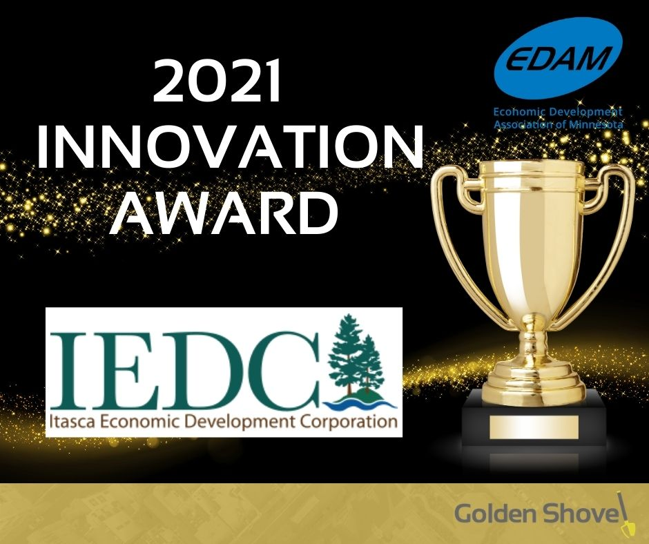 GSA Client, Tamara Lowney, Itasca Economic Development Corporation Wins EDAM Award for Innovation Main Photo