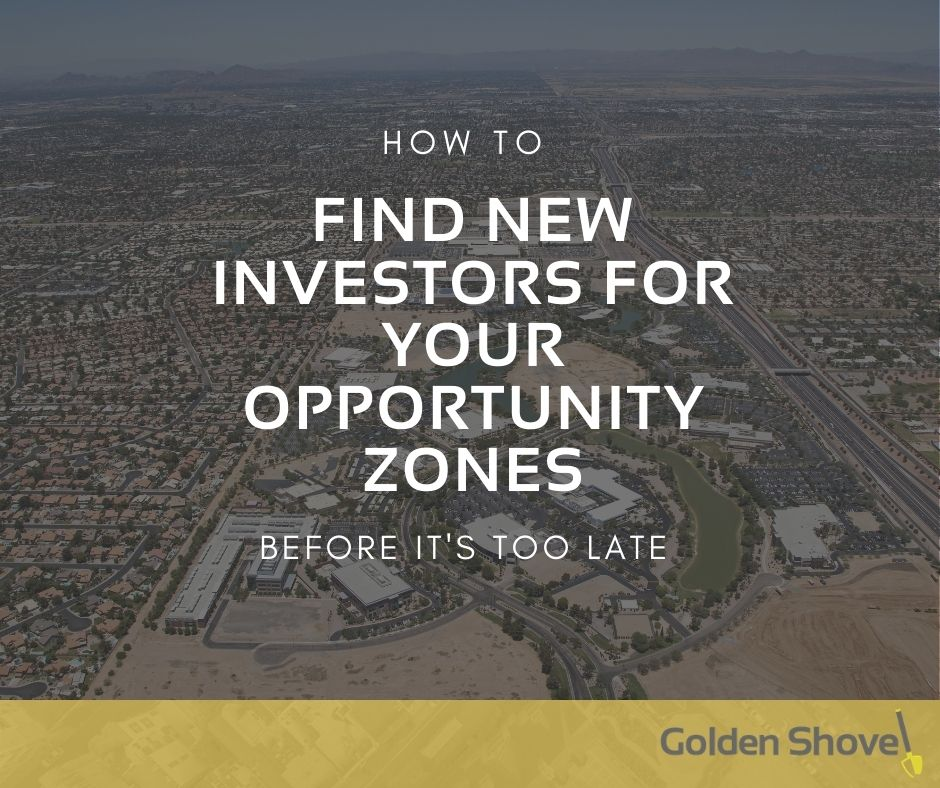 Click the How To Find New Investors for Your Opportunity Zones Before It's Too Late Slide Photo to Open