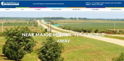 Jacksonville Regional Economic Development Corporation Launches Website Main Photo