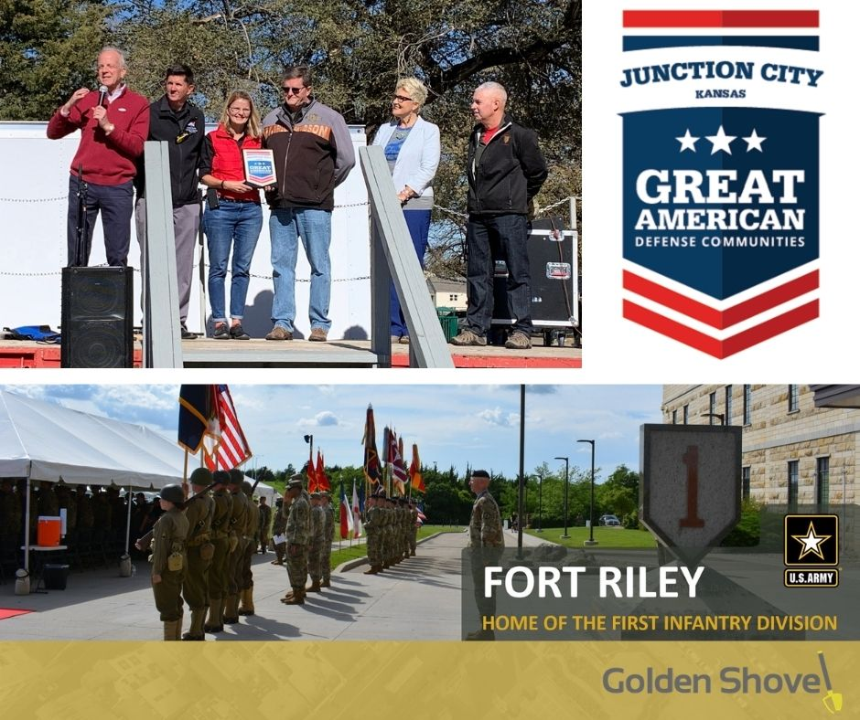 Junction City Honored as a Great American Defense Community Main Photo