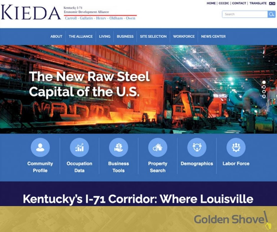 Kentucky I-71 Economic Development Alliance Launches Newly Redesigned Website Main Photo