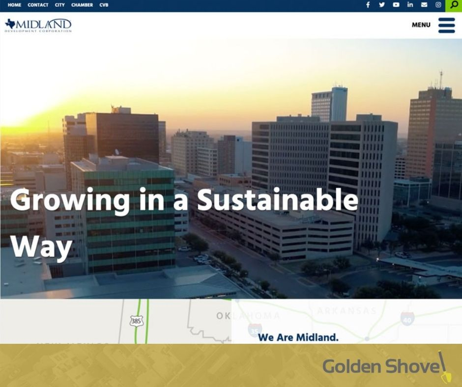 Midland Development Corporation Launches Newly Redesigned Website Main Photo