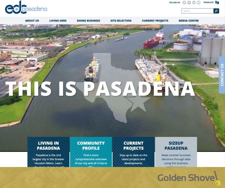 Pasadena Economic Development Corporation Launches Newly Redesigned Website Main Photo