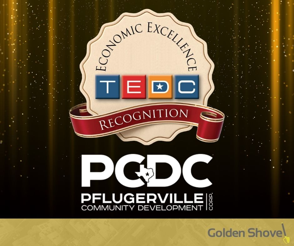 Pflugerville Community Development Corp. Recognized with 2020 Economic Excellence Award Main Photo