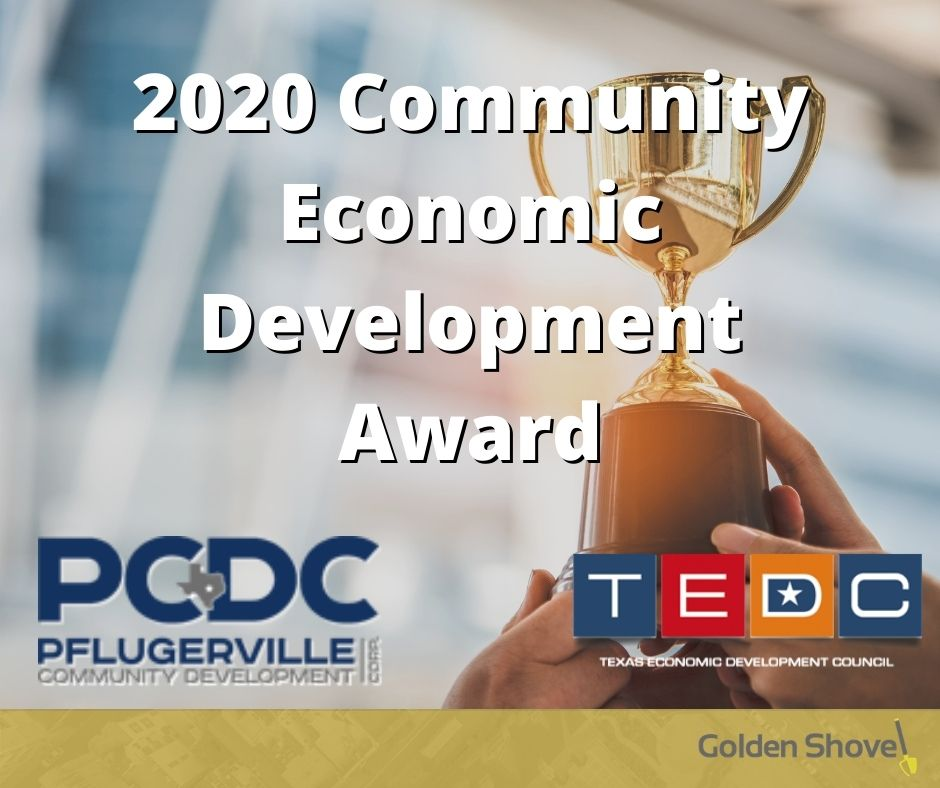 Pflugerville Community Development Corporation Wins Community Economic Development Award Main Photo