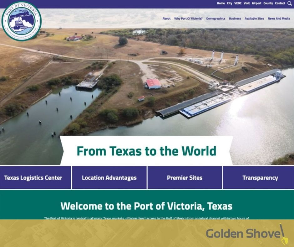 Port of Victoria Launches Newly Designed Website Main Photo