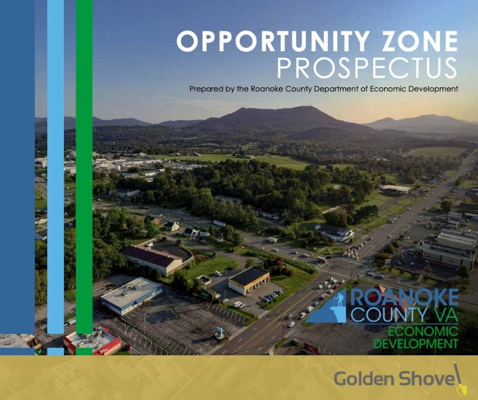 Recently Released Roanoke County Opportunity Zone Prospectus Promotes Local Investment Potential Main Photo