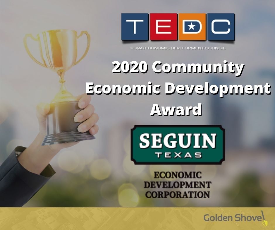 Seguin, TX Economic Development Corporation Wins Community Economic Development Award Main Photo