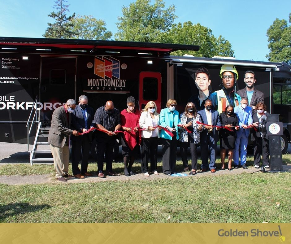 Click the The Workforce Mobile Unit is an Innovative Bridge Between Job Seekers and Employers in Montgomery County, Ohio Slide Photo to Open