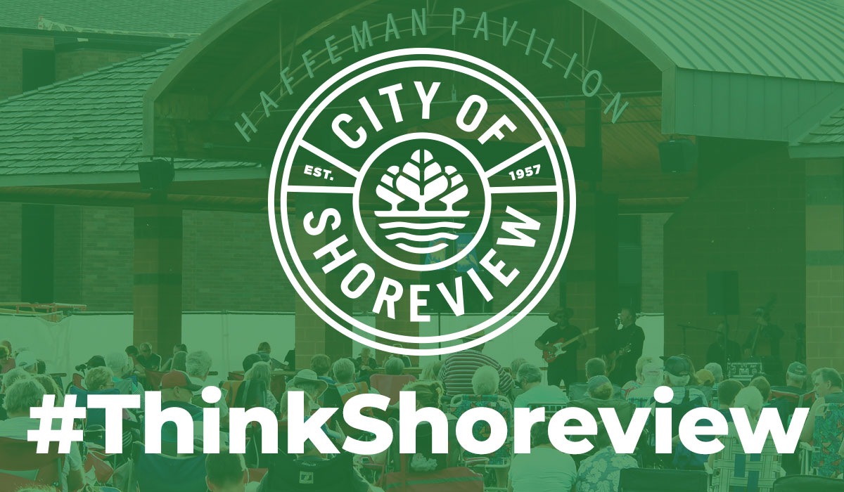 Click the City of Shoreview Launches Newly Redesigned Website Slide Photo to Open