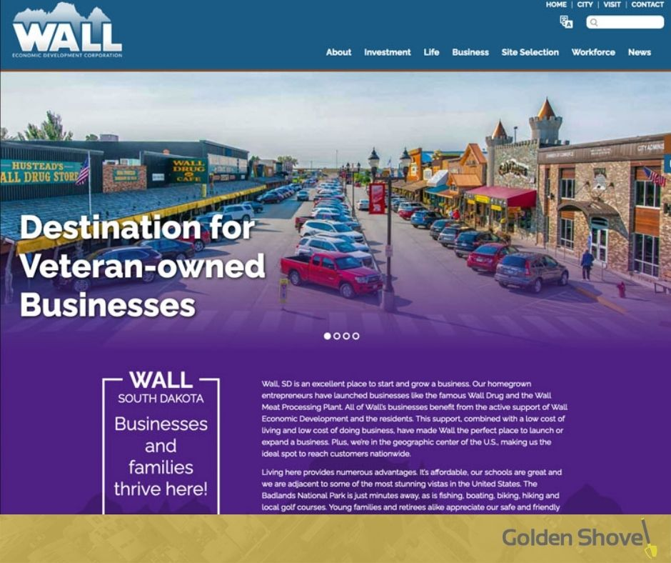 Wall Economic Development Corporation Launches Newly Designed Website Main Photo