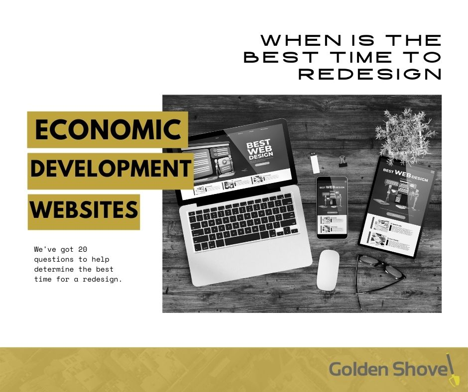 When is the Best Time to Redesign an Economic Development Website? Main Photo