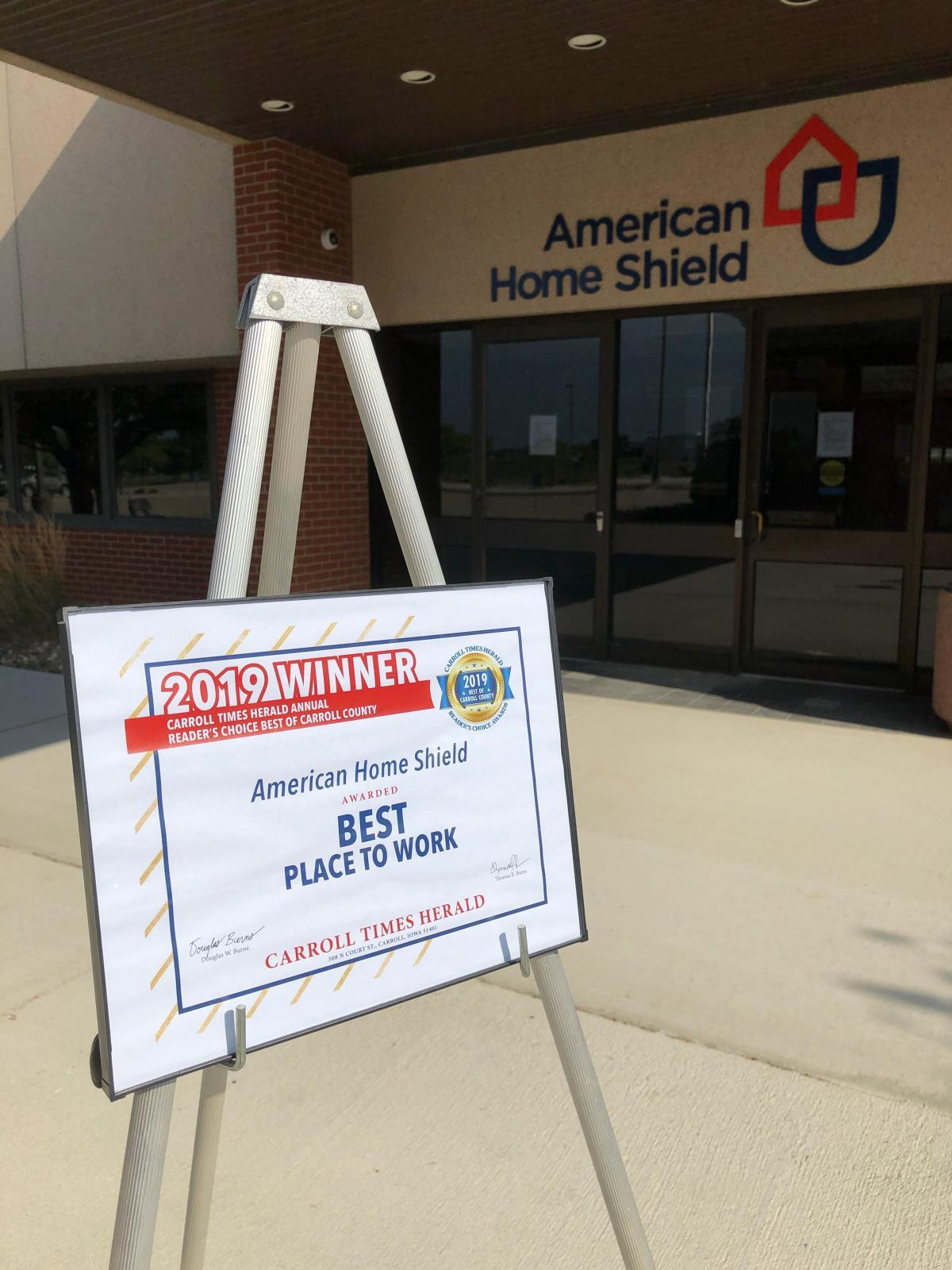 American Home Shield Is a Pillar of Carroll County Main Photo