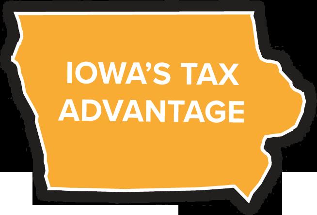 iowa's tax advantage