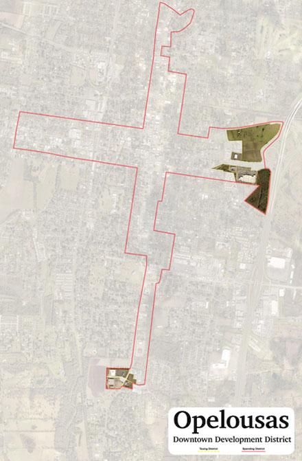 Opelousas Downtown Development District