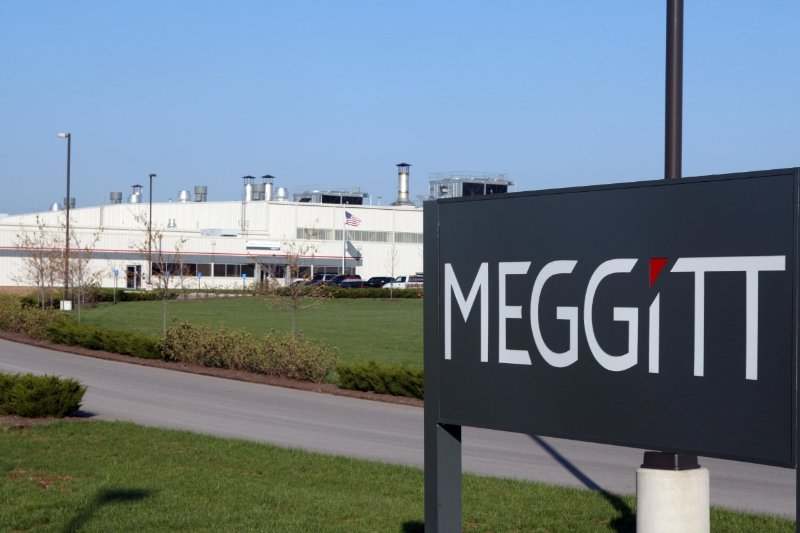 The front of the Meggitt Aircraft Braking Systems location with the historic Goodyear Airdock.