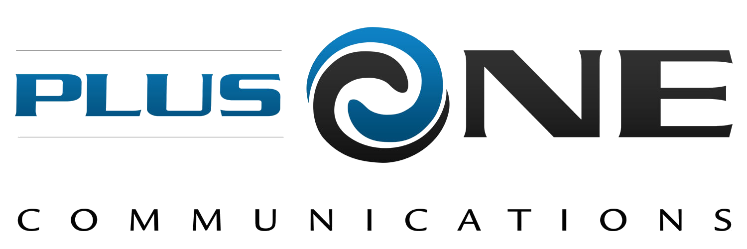 PlusOne Communications Logo