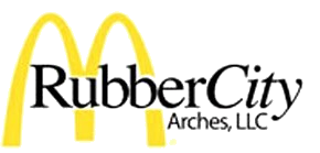Rubber City Arches Logo