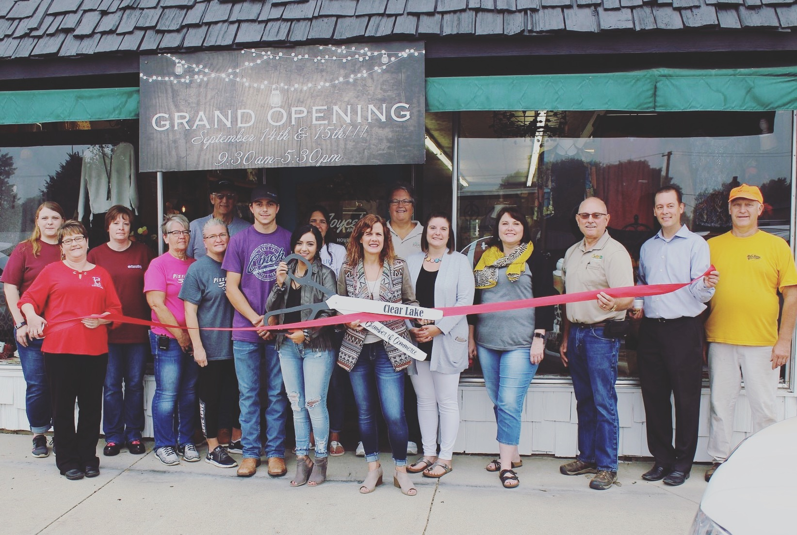 Joyce's new Ribbon Cutting and Grand Opening