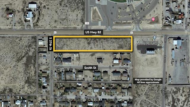 Main Photo For 3.89+/- Acres Commercial Land