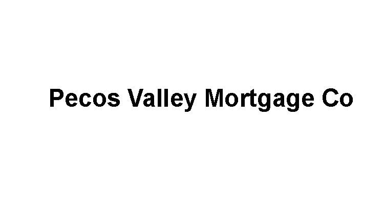 Pecos Valley Mortgage Co Logo