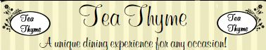 Thumbnail Image For Tea Thyme - Click Here To See