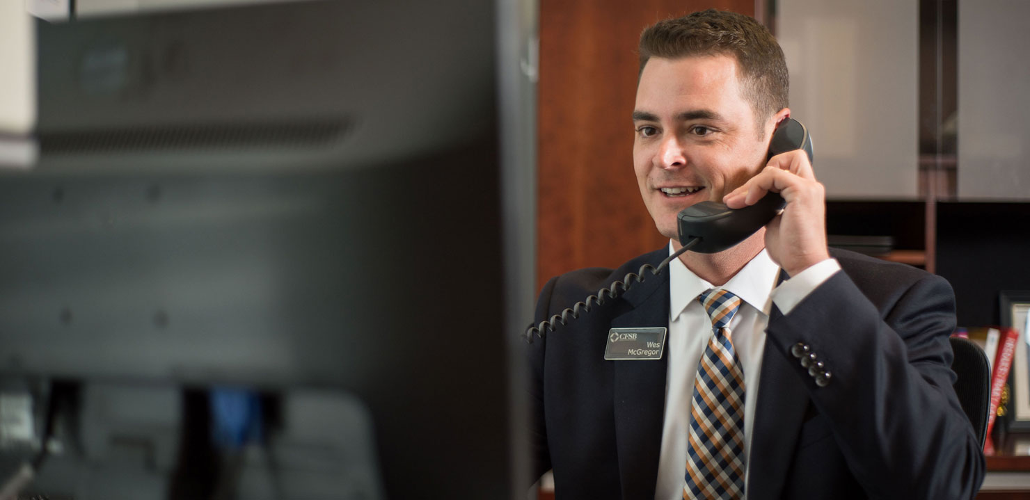 Wes McGregor, Community Financial Services Bank