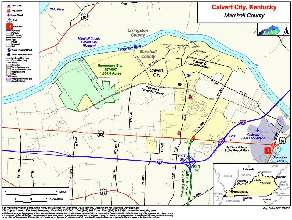 Marshall County – Calvert Riverport Corridor