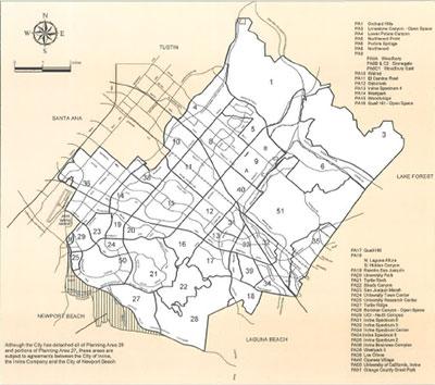Planning Areas