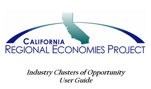 California Regional Economies Project – Industry Clusters 2007