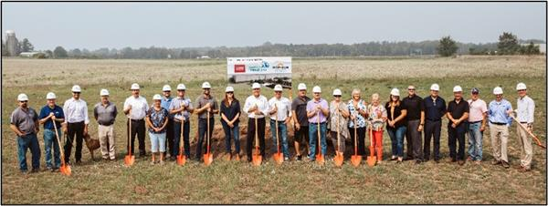 Ground broken for new North Freeze Dry facility in northeast Little Falls Main Photo