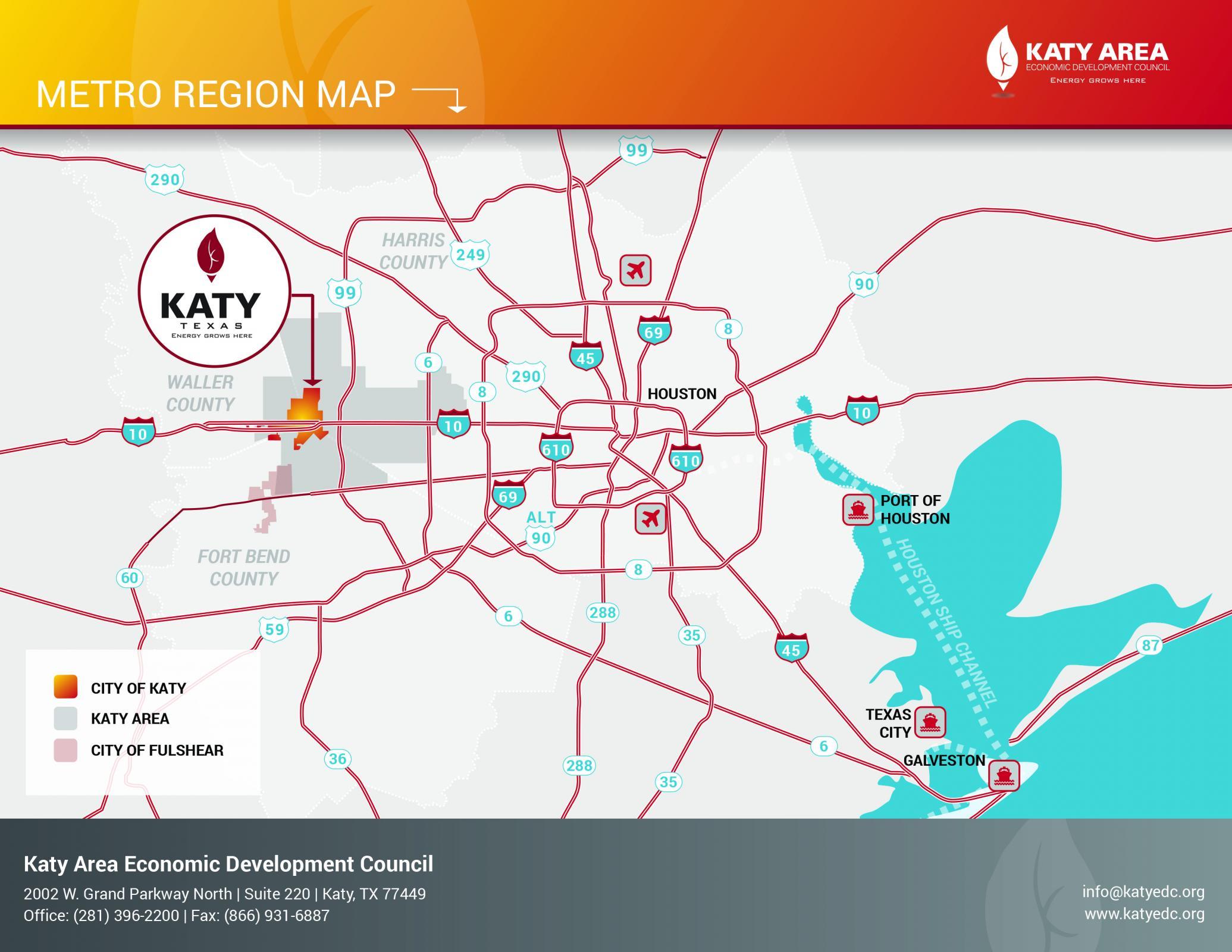 Metro Region Map