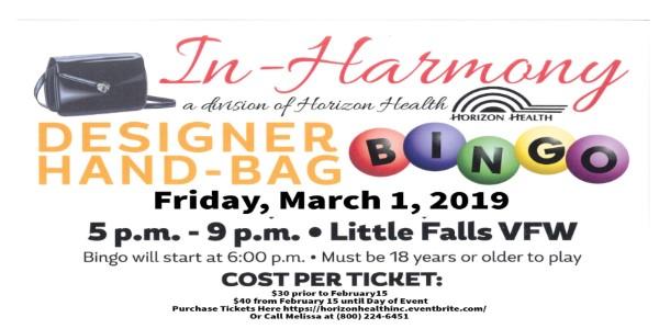Event Promo Photo For Designer Handbag BINGO