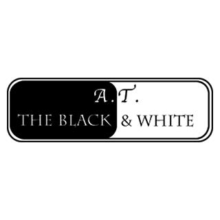 A.T. The Black & White Logo