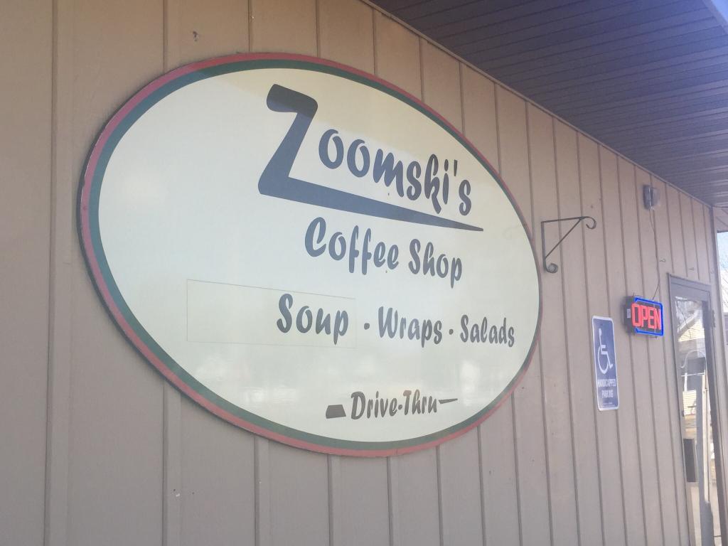 Zoomski's Coffee Shop Logo